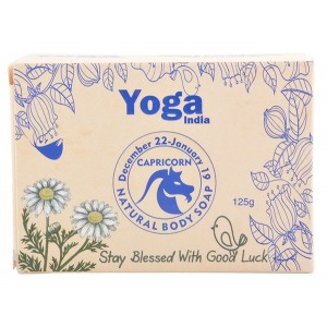 Buy Yoga India Pure Essential Oil Natural Body Sun Sign Soap - Capricorn - Nykaa