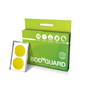 Buy Sirona Bodyguard Premium Natural Anti Mosquito Patches - 10 Patches - Nykaa