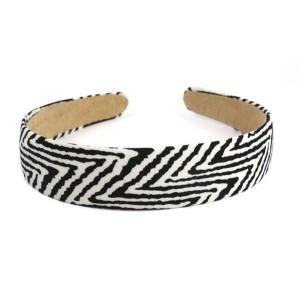 Buy The Blur Store Zebra Thick Hairband - Nykaa