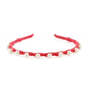 Buy The Blur Store Pink Pearl Hairband - Nykaa