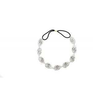 Buy The Blur Store - Silver Leaf Hair Band - Nykaa