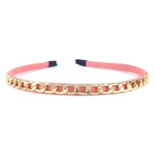 Buy The Blur Store - Chain Peach Hearband - Nykaa