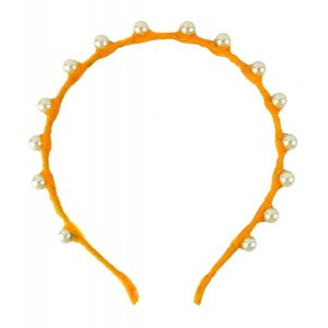 Buy The Blur Store Yellow Pearl Hairband - Nykaa