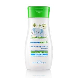 Buy Mamaearth Gentle Cleansing Shampoo For Babies - Nykaa