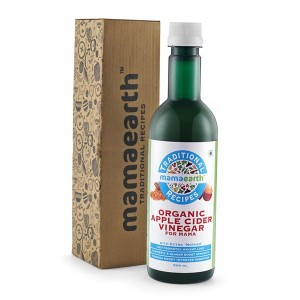 Buy Mamaearth Traditional Recipes Organic Apple Cider Vinegar For Mama - Nykaa