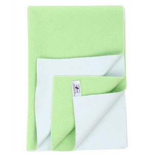 Buy Mee Mee'S Baby Total Dry & Breathable Mattress Protector Mat - Pista Green (M) - Nykaa