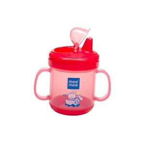 Buy Mee Mee Baby No-Spill Sipper Cup - Pink - Nykaa