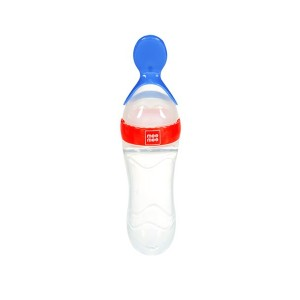 Buy Mee Mee Baby Squeezy Silicone Food Feeder - Red - Nykaa