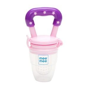 Buy Mee Mee Baby Fruit & Food Nibbler - Pink - Nykaa