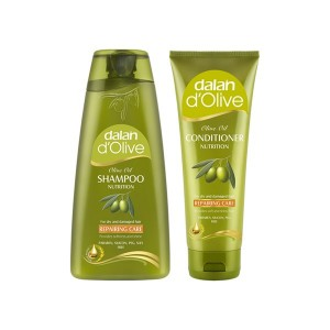 Buy Dalan D'Olive Olive Oil Repairing Care Shampoo & Conditioner - Nykaa
