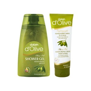Buy Dalan D'Olive Olive Oil Shower Gel & Moisturizing Hand & Body Cream - Nykaa
