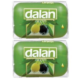 Buy Dalan Olive Oil Glycerine Soap (Pack Of 2) - Nykaa