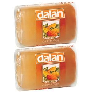 Buy Dalan Almond Oil Glycerine Soap (Pack Of 2) - Nykaa