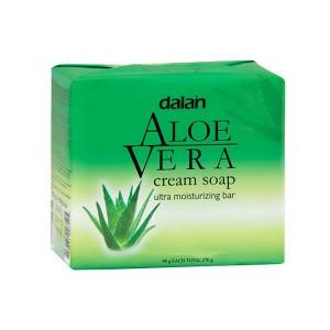 Buy Dalan Aloe Vera Cream Soap Pack Of 3 - Nykaa