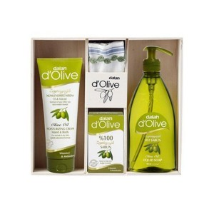 Buy Dalan D'Olive Olive Oil Skin Care Gift Pack - Nykaa