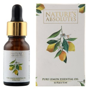 Buy Nature's Absolutes Pure Lemon Essential Oil - Nykaa