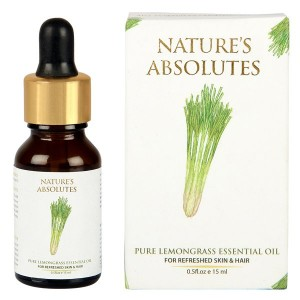 Buy Nature's Absolutes Pure Lemongrass Essential Oil - Nykaa