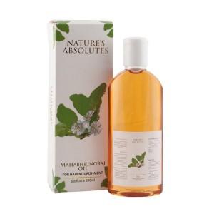 Buy Nature's Absolutes Mahabhringraj Hair Oil - Nykaa