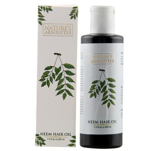 Buy Nature's Absolutes Neem Hair Oil - Nykaa