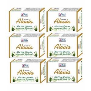 Buy BeSure Aloe Vera Soap - Pack Of 6 - Nykaa