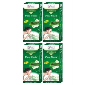 Buy BeSure Aloevera Face Wash Pack Of 4 - Nykaa