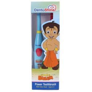 Buy DentoShine Chhota Bheem Power Toothbrush With Extra Bristle For Kids - Blue & Magenta - Nykaa