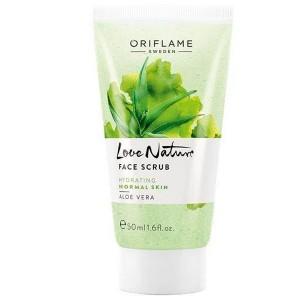 Buy Oriflame Love Nature Face Scrub Aloe Vera - Nykaa