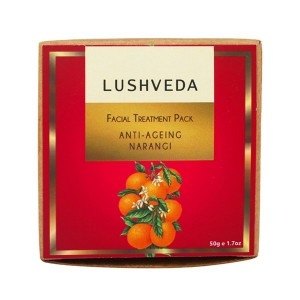 Buy Lushveda Facial Treatment Pack - Anti Ageing Narangi - Nykaa