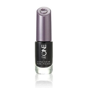 Buy Oriflame The ONE Long Wear Nail Polish - Black Noir - Nykaa