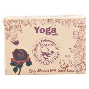 Buy Yoga India Pure Essential Oil Natural Body Sun Sign Soap - Scorpio - Nykaa