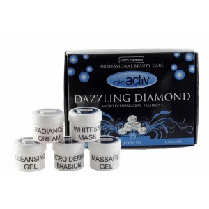 Buy Mikroactiv Dazzling Diamond Facial Kit (Set of 5) - Nykaa