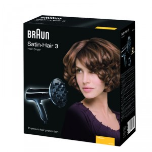 Buy Braun Satin Hair 3 HD 330 Hair Dryer - Nykaa