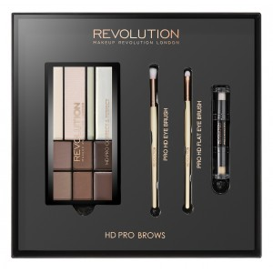 Buy Makeup Revolution HD Pro Brows - Nykaa