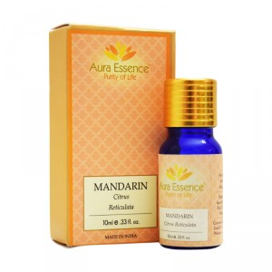 Buy Aura Essence Pure Mandarin Essential Oil - Nykaa
