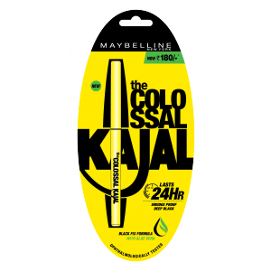 Buy Herbal Maybelline New York The Colossal Kajal 24HR Smudge Proof Deep Black - Nykaa