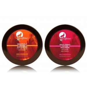 Buy MCaffeine Skin Zex Pack - Face Cream + Body Butter  - Nykaa