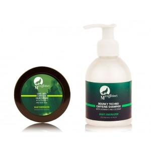 Buy MCaffeine Hair Zex Pack - Shampoo + Hair Cream - Nykaa