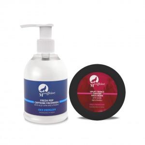 Buy MCaffeine Face Radiance Pack - Caffeine Face Wash + Caffeine Face Cream - Nykaa