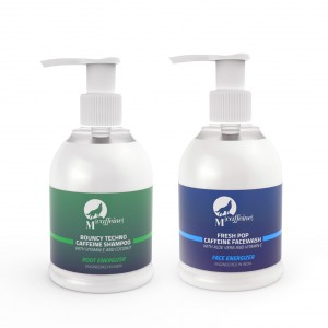 Buy MCaffeine Caffeine Kick Combo (Caffeine Shampoo + Caffeine Face Wash)  - Nykaa