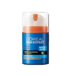 Buy L'Oreal Paris Men Expert White Activ Oil Control Moisturising Fluid SPF 20 PA+++ - Nykaa