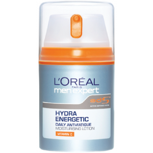 Buy Herbal L'Oreal Paris Men Expert Hydra Energetic Daily Anti-Fatigue Moisturising Lotion - Nykaa