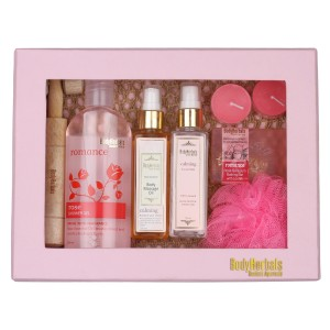 Buy BodyHerbals Rose Essentials Gift Set - Nykaa