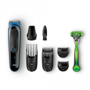 Buy Braun Multi Grooming Kit MGK3040 - 7-in-1 Face And Body Trimming - Nykaa