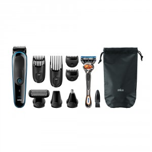 Buy Braun Multi Grooming Kit MGK3080 - 9-in-1 Head To Toe Trimming - Nykaa