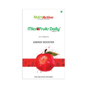 Buy NutroActive Microfruits Daily Tablet - Nykaa
