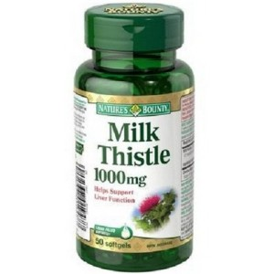 Buy Nature's Bounty Silymarin Milk Thistle 100mg - Nykaa