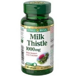 Buy Nature's Bounty Silymarin Milk Thistle 100mg - Nykaa
