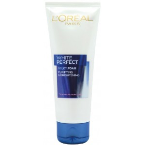 Buy L'Oreal Paris White Perfect Facial Milky  Foam 100ml - Nykaa