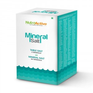 Buy NutroActive Mineral Salt - Nykaa