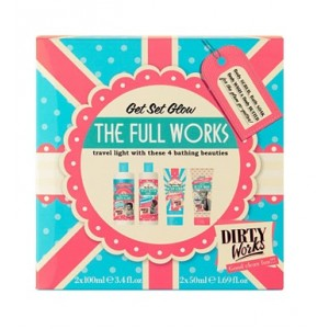 Buy Dirty Works Get Set Glow Mini Luxuries - Nykaa